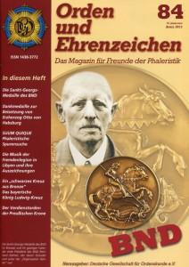 Ausgabe 84 / April 2013