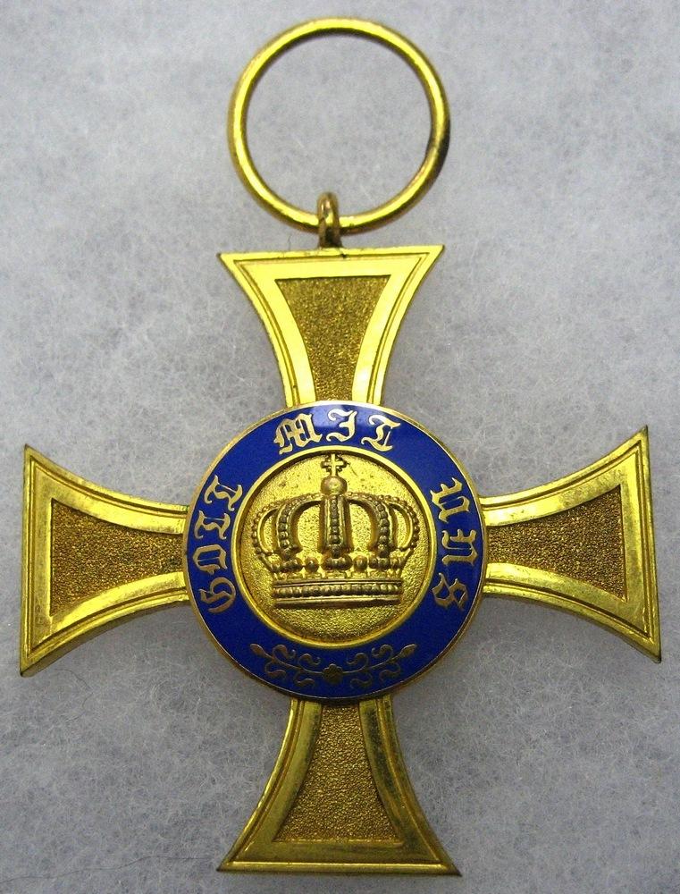 Abb. 13: Kronenorden 4. Klasse mit großer Krone