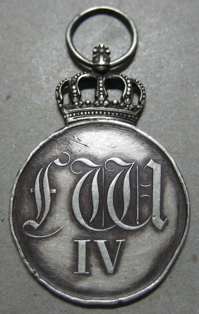 Abb. 18: Am 18.05.1842 von Friedrich Wilhelm IV. als Armeemedaille gestiftet, später zur Rote Adler Medaille gewandelt