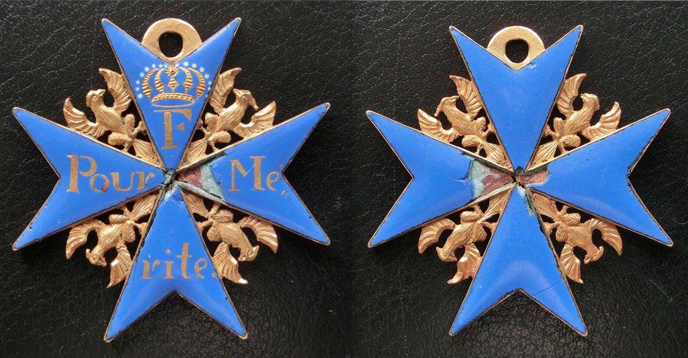 Abb. 9: Militär-Verdienstordens aus der Zeit der Befreiungskriege. Abb. mit freundlicher Genehmigung von www.medalnet.net.