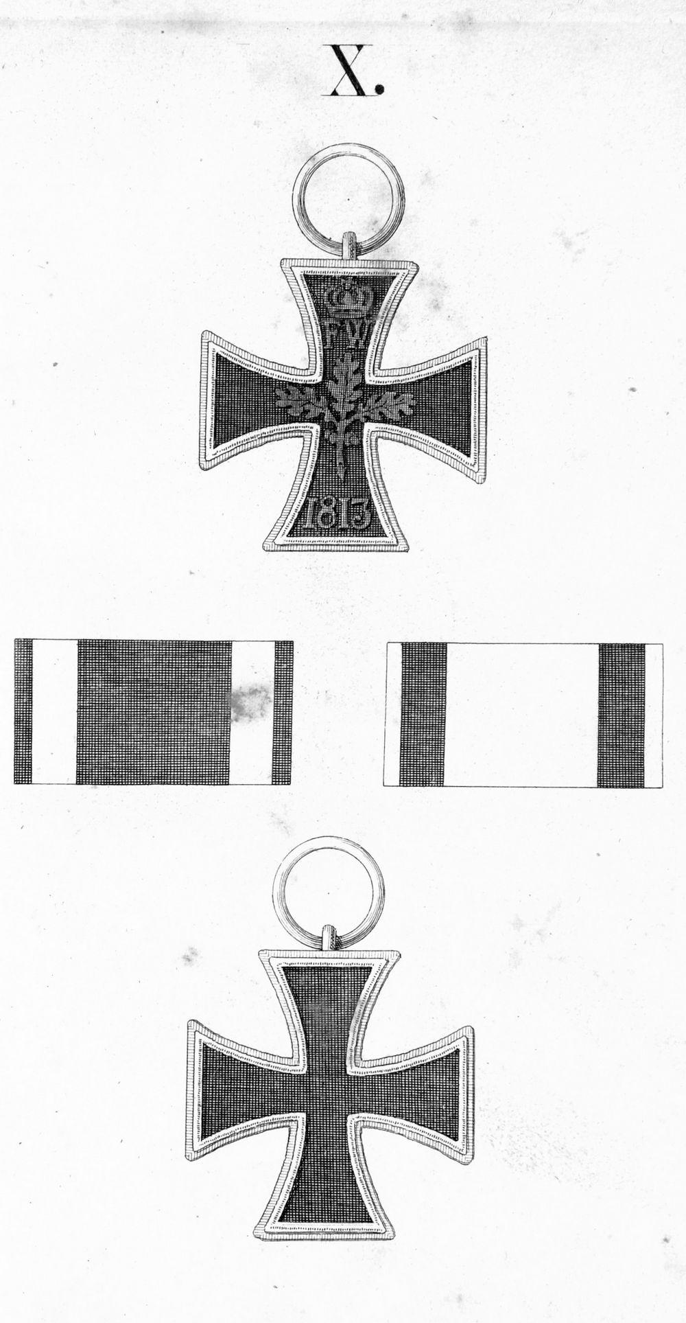 Abb. 23: EKII 1813 aus der Ordensliste 1817.