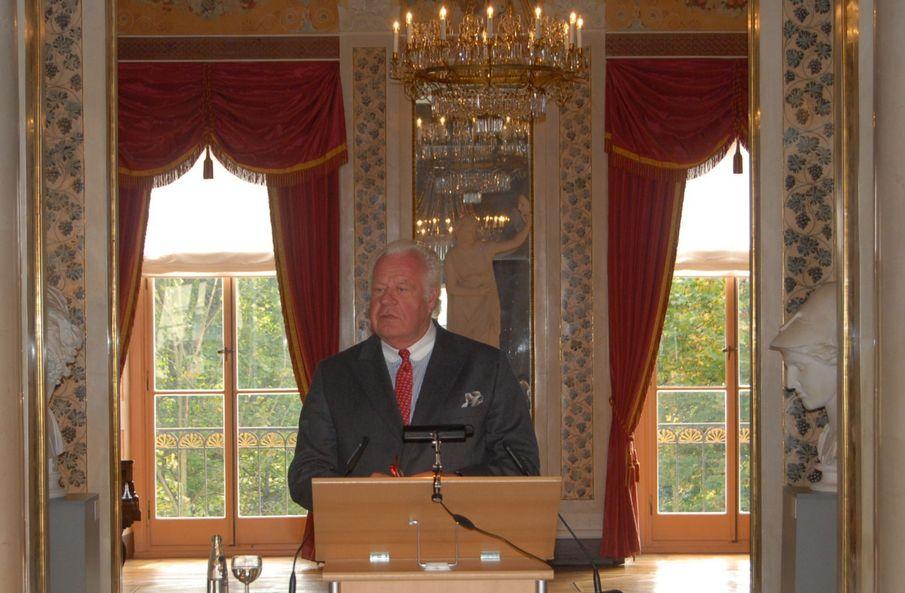 Ehrengast Prinz Michael von Sachsen-Weimar