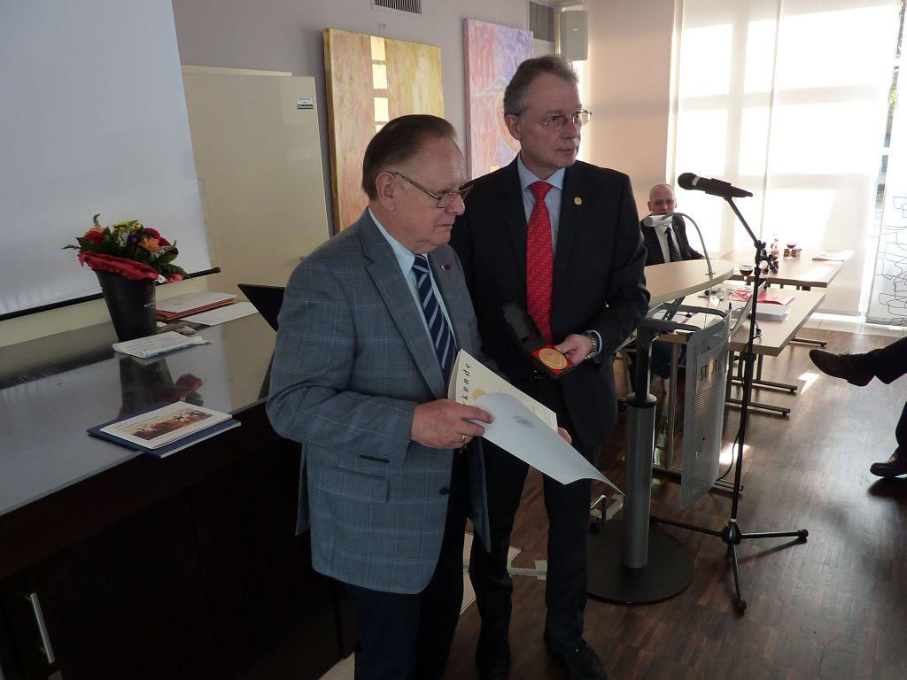 Hessental-Preisträger Hr. Gattinger mit B. Döbel