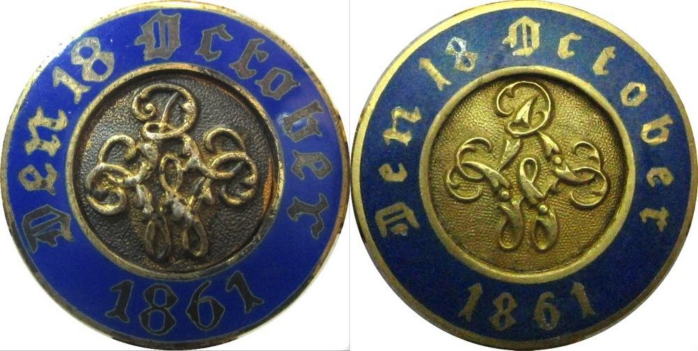 Abb. 10: Revers-Abblidungen, links das Original, rechts die Fälschung