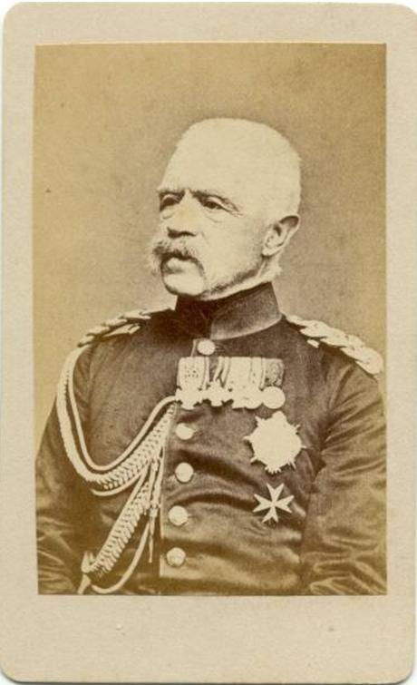 Abb. 14: GdI von Bonin, Präses der GOK vom 09.12.1869 - 16.04.1872