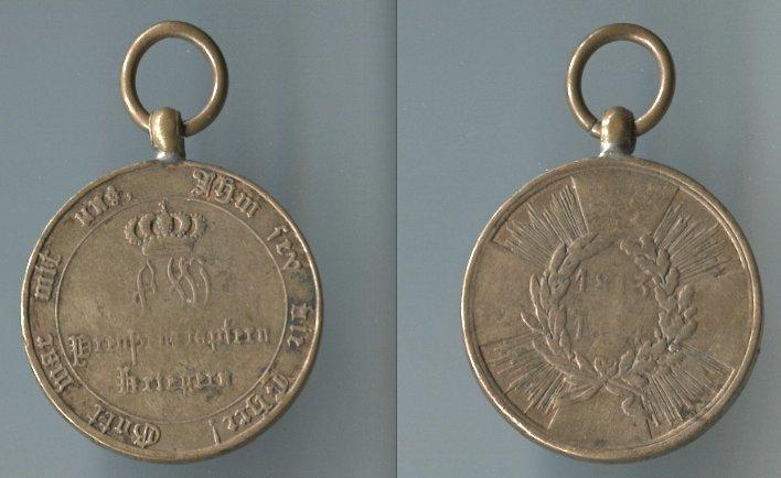 Abb. 30: KDM 1. Modell, 1813/14, mit runden Armen; 15,4 g.