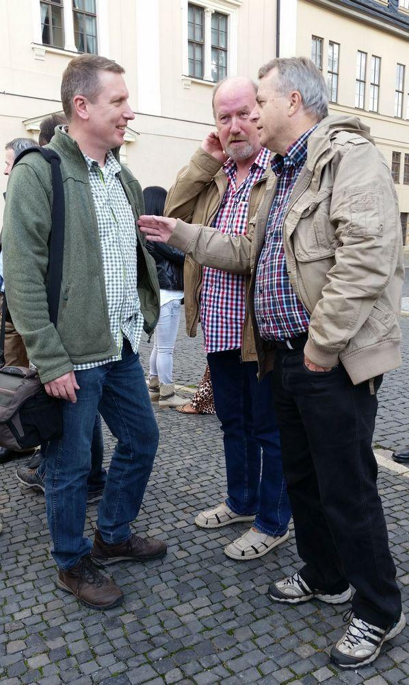 Dr. Thilo Wahl, Detlef Schade, Oswald Gösswein